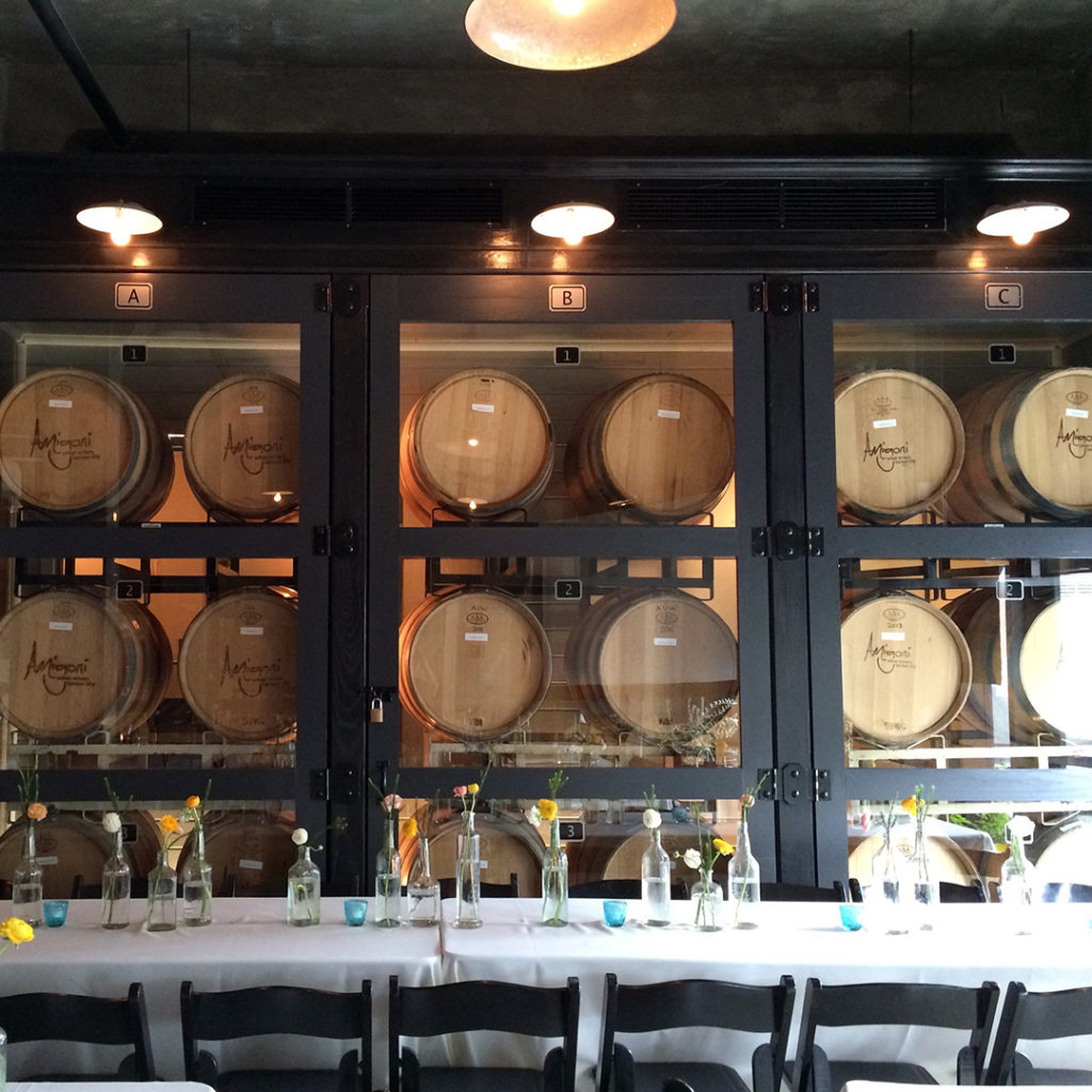 Barrel Room Family Style Seating